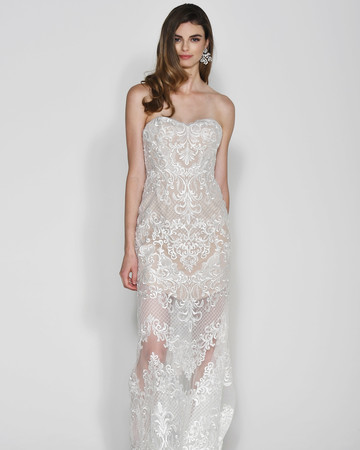 Wtoo by Watters Lace Sweetheart Wedding Dress Fall 2018