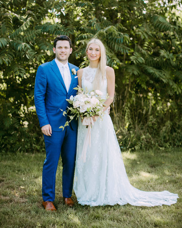 danielle cliff wedding couple