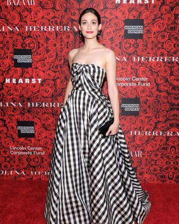 Emmy Rossum at An Evening Honoring Carolina Herrera