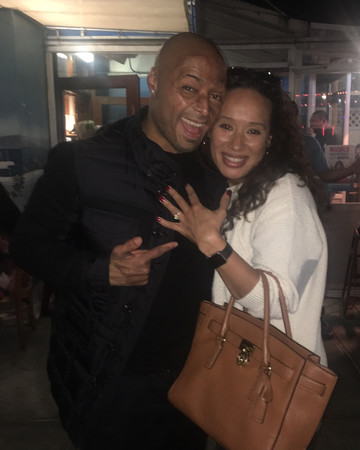 J.R. Martinez and Diana Gonzalez-Jones Engaged