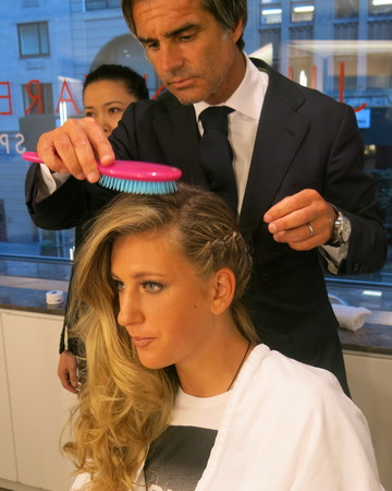 US Open hairstylist Julien Farel shares wedding hair tips