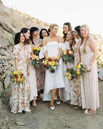 lisa louis wedding bridesmaids