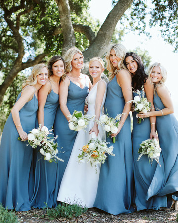 eliza peter wedding bridesmaids