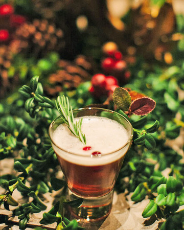 festive cocktail