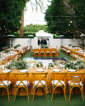 michael thomas wedding reception tables