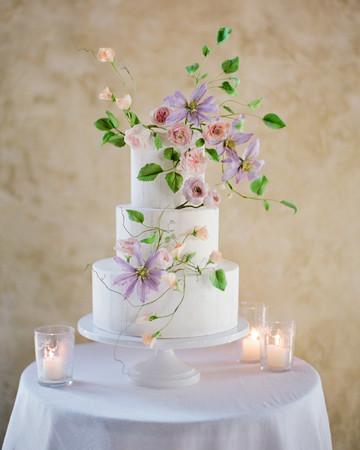 pastel wedding cake jose villa maggie austin