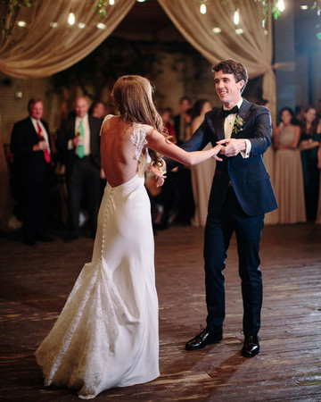afton travers wedding firstdance