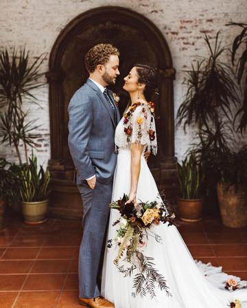 lori john wedding california first look