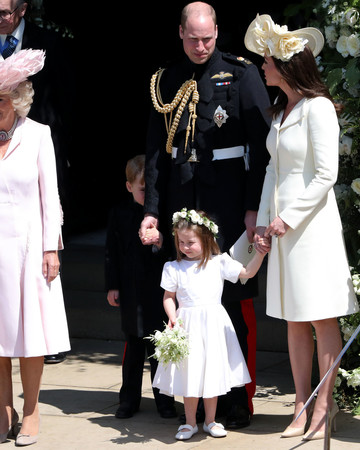 Princess Charlotte with Royal Family