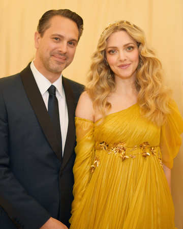 Thomas Sadoski and Amanda Seyfried 2018 Met Gala