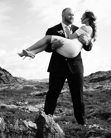 hafbor julius bjornsson and kelsey henson married