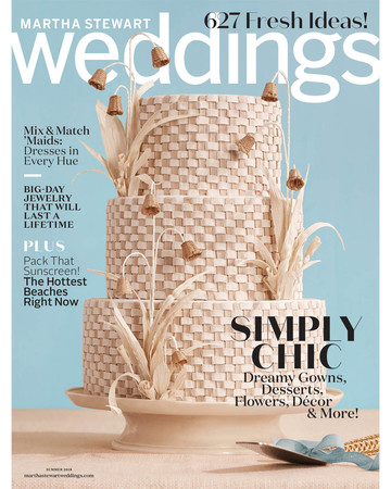 summer 2018 weddings magazine cover