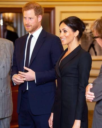 meghan markle tuxedo dress hamilton date