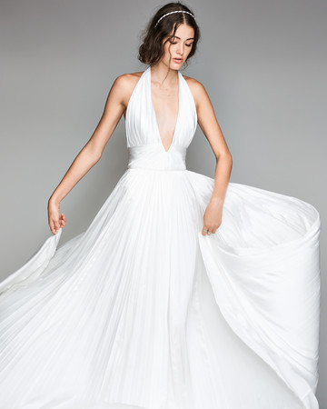 willowby by watters 2018 halter v-neck wedding dress