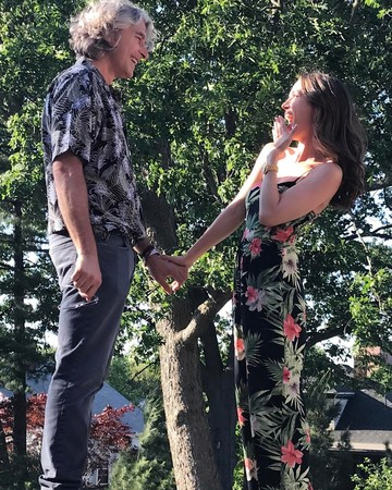 Eliza Dushku and Peter Palandjian engagement announcement