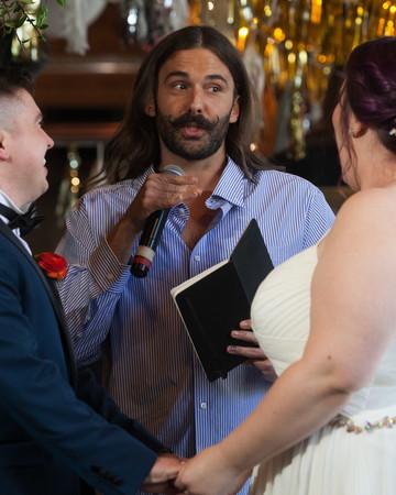 jonathan van ness wedding officiant