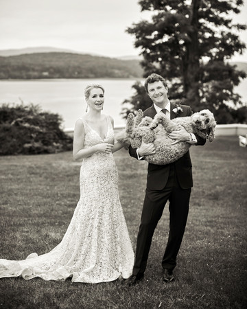 joyann jeremy couple dog portrait wedding