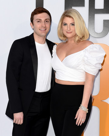 meghan trainor and daryl sabara i feel pretty premiere