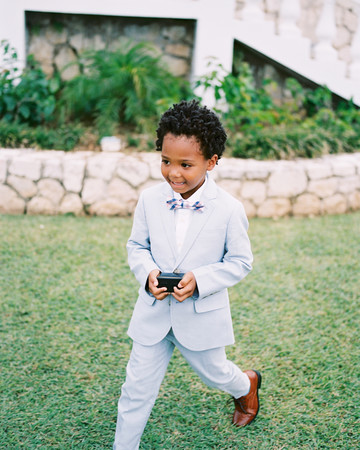 porsha terry wedding jamaica ring bearer