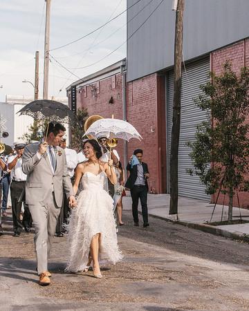 parade umbrellas