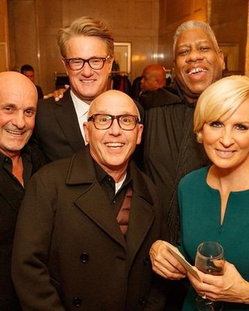 Mika Brzezinski and Joe Scarborough engagement party