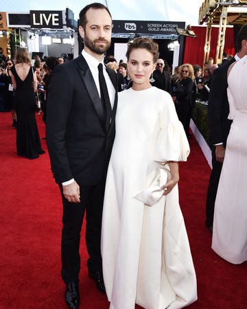 Natalie Portman and Benjamin Millepied Sag Awards 2017