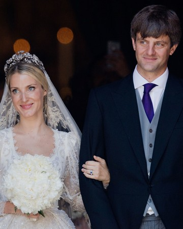 Prince Ernst-August Jr. and Ekaterina Malysheva at wedding