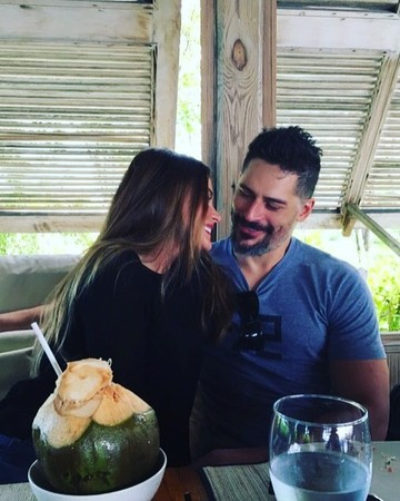 Sofia Vergara and Joe Manganiello on Vacation in Turks and Caicos