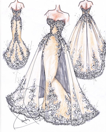 Randy Fenoli First Wedding Dress Collection
