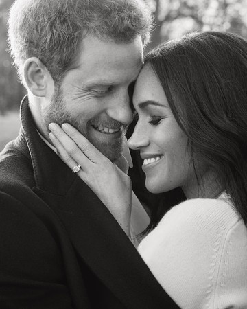 Prince Harry and Meghan Markle Official Engagement Photos