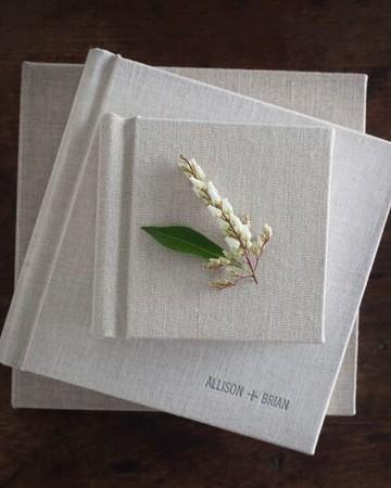 wedding photo albums grey hardback covers three sizes