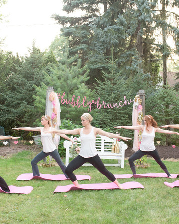 Yoga Bridal Shower
