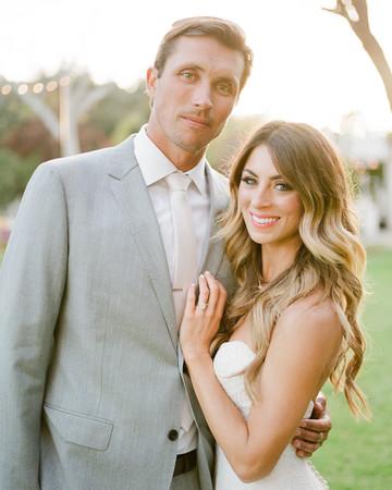 Tenley molzahn taylor leopold wedding couple smiling