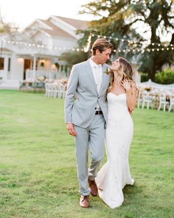 Tenley molzahn taylor leopold wedding couple walking