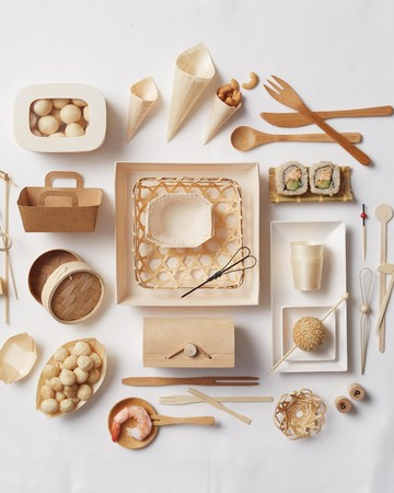 Biodegradable Serveware