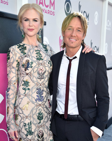 Nicole Kidman and Keith Urban at Academy of Country Music Awards