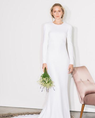 stella mccartney long sleeve wedding dress