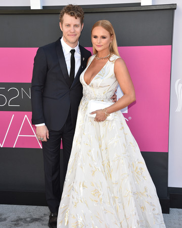 Miranda Lambert and Anderson East at Academy of Country Music Awards
