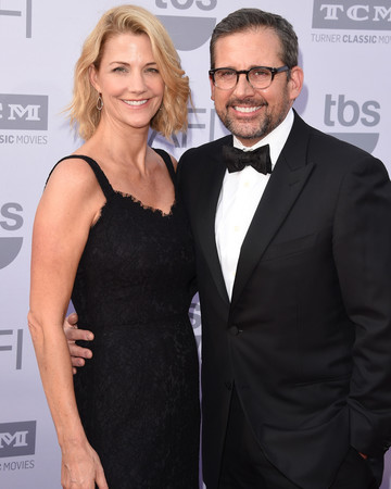 longest celebrity relationships steve carell nancy carell getty