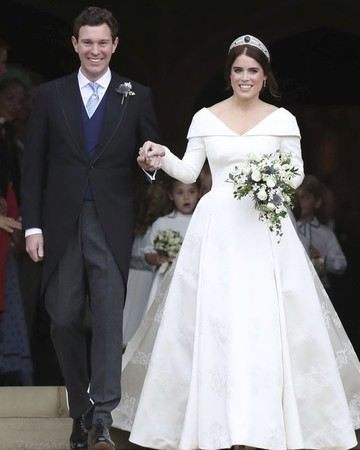 Princess Eugenie's Wedding Gown
