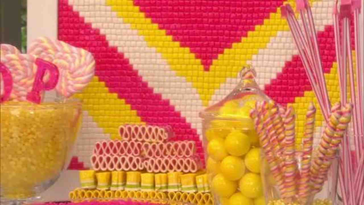 video candy bridal shower martha stewart weddings