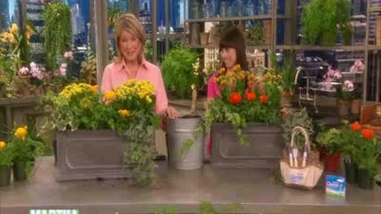Video: Beautiful Garden Window Boxes | Martha Stewart Weddings