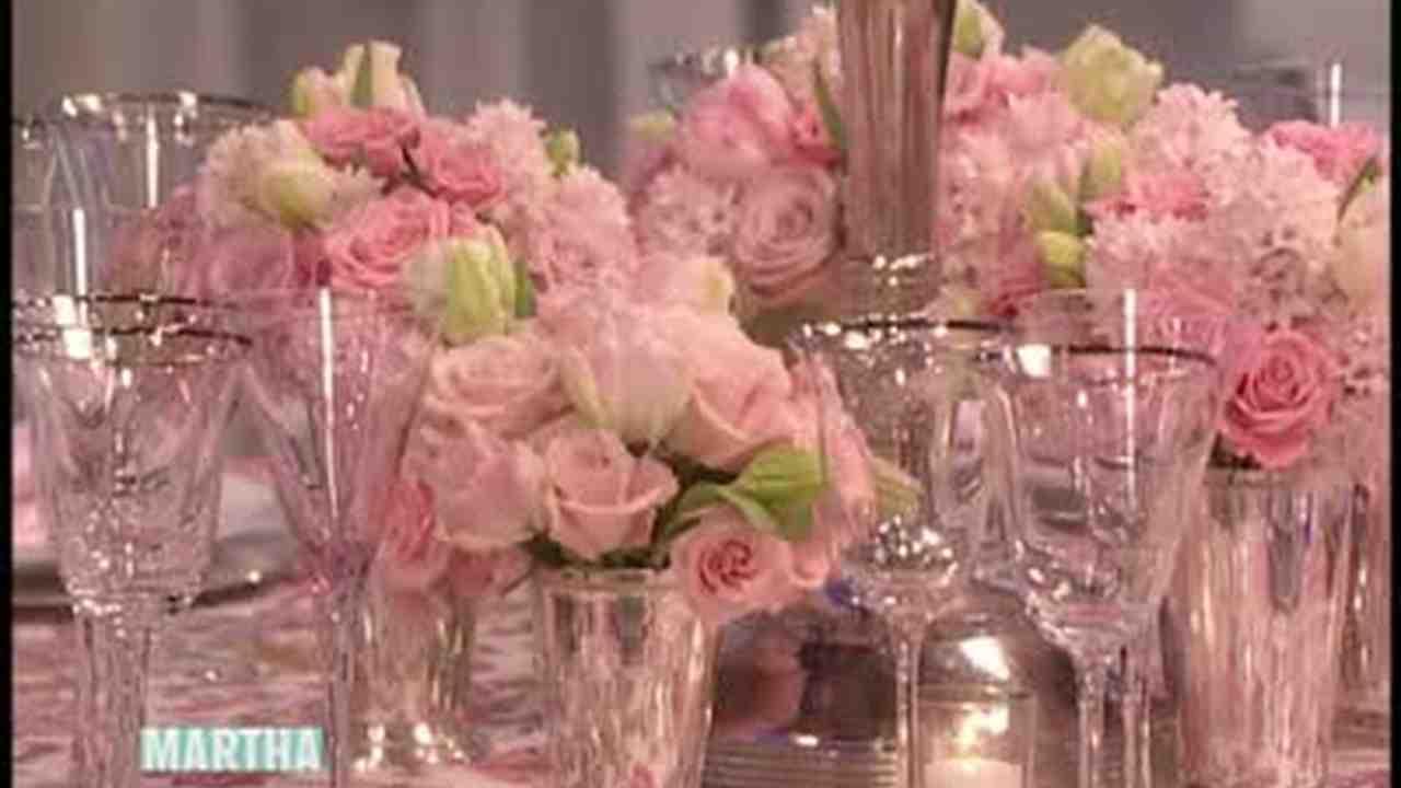 Video: Wedding Rose Centerpiece With Preston Bailey | Martha Stewart ...