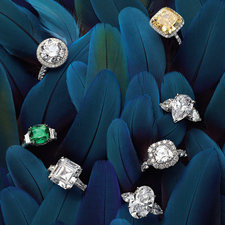 Wedding Ring Designers List   Glossary Of Engagement Ring Cuts Martha Stewart Weddings