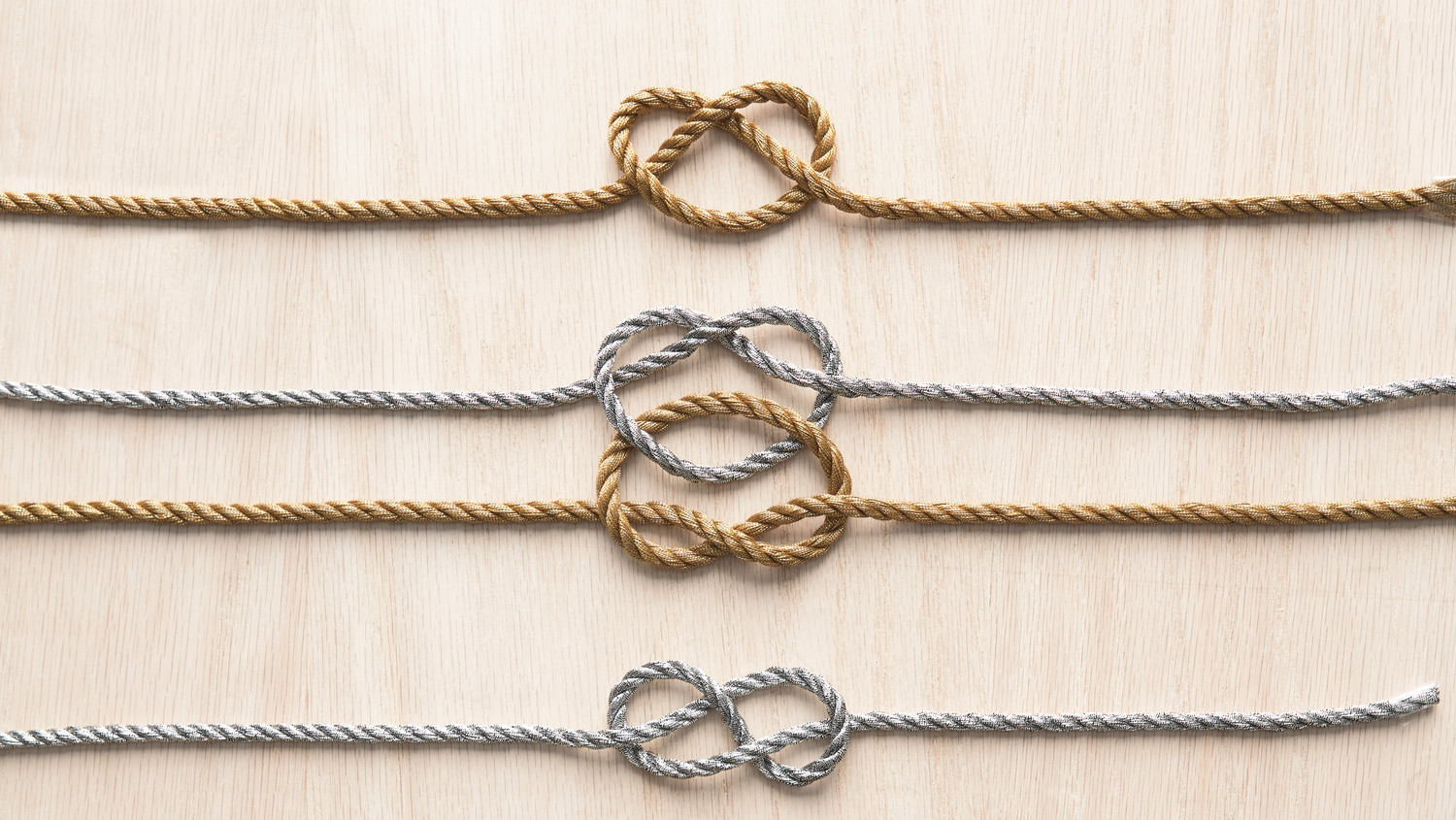 The Wedding Knot.How To Tie Knots For Easy Wedding Projects Martha Stewart Weddings