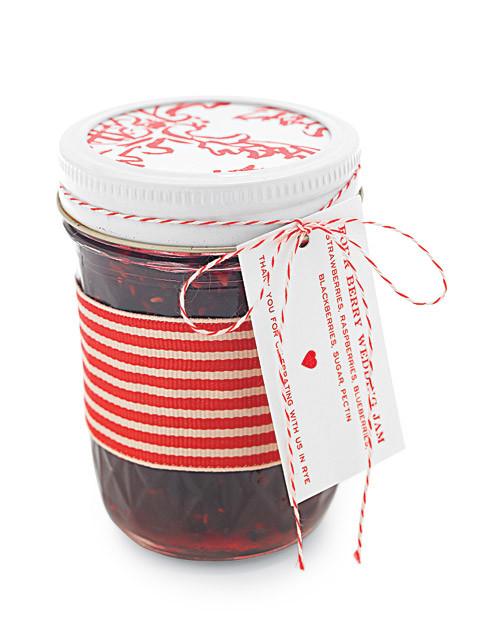 Laurens Four Berry Wedding Jam Recipe Martha Stewart Weddings