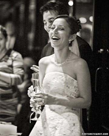 Reception Toasts Martha Stewart Weddings