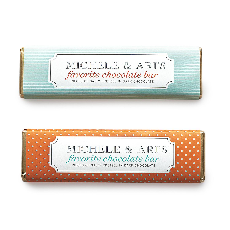 Personalized ChocolateBar Favor Label Template Martha Stewart