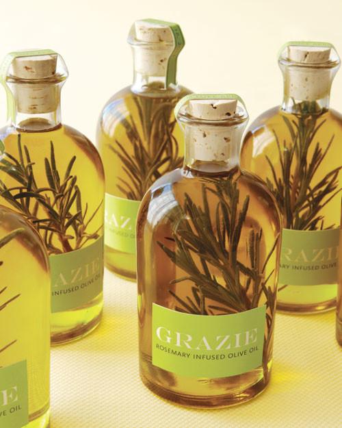 Rosemary Olive Oil How-To | Martha Stewart Weddings