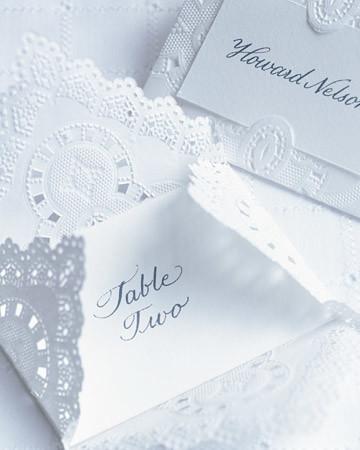 DIY Doily Wedding Decorations